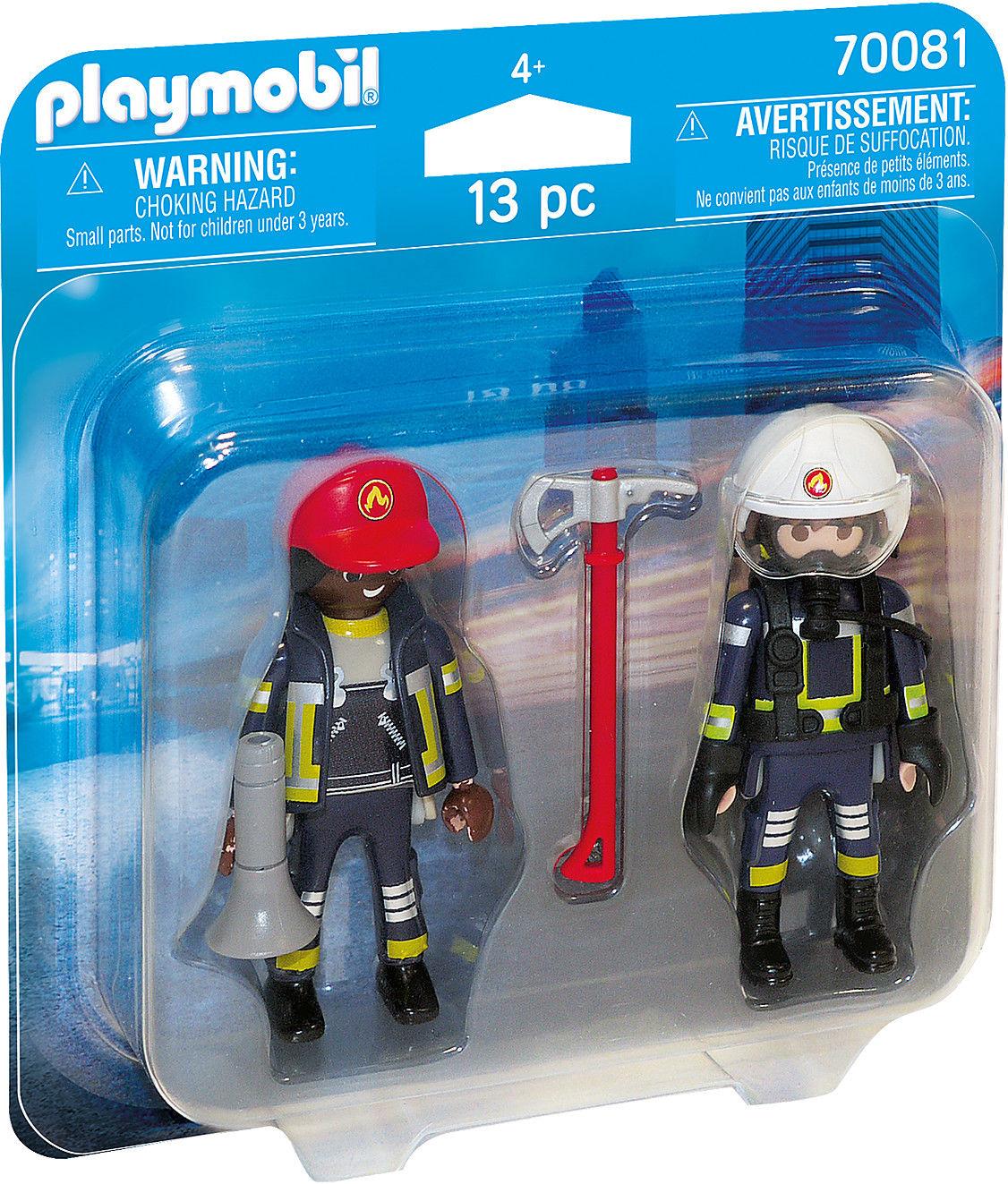 Playmobil - DuoPack Strażacy 70081