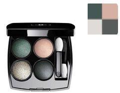 Chanel Les 4 Ombres Multi-effect Quadra Eye Shadow 232 Tisse Venitien Poczwórne cienie do powiek - 2g Do każdego zamówienia upominek gratis.