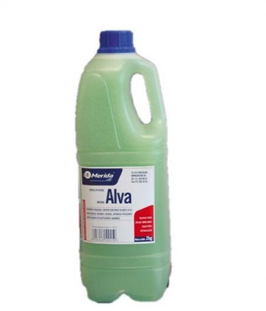 Mydło w płynie Merida Alva zielone 2,2 kg wysokiej jakości-pielęgnacyjne