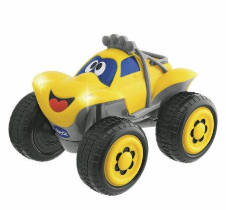 Chicco Samochód Billy Żółty 2-6 lat Chicco Zdalnie Sterowany Samochód Billy Żółty 2 lata+