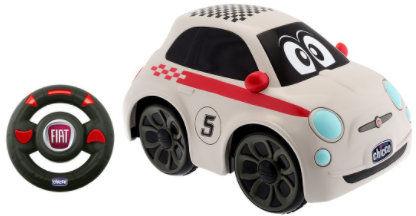Chicco Fiat 500 z Pilotem Sportowy Biały 2-6 lat Chicco Sportowy Stylizowany Fiat 500 z Pilotem 2+