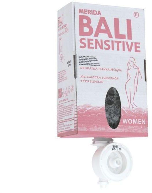 Mydło w pianie merida bali sensitive women jednorazowy wkład 700 g
