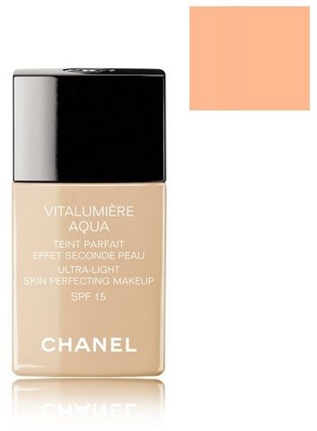 Chanel Vitalumiere Aqua Ultra-Light Skin Perfecting Makeup SPF 15 Podkład ujednolicający 42 Beige Rose - 30ml Do każdego zamówienia upominek gratis.
