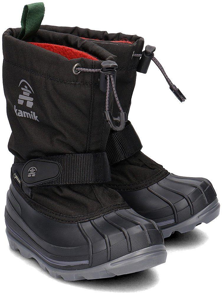Kamik Waterbug 8G - Śniegowce Dziecięce - NK8805 BLK - Czarny
