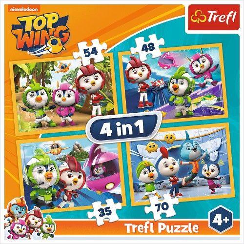Puzzle 4w1 Ptasia Akademia