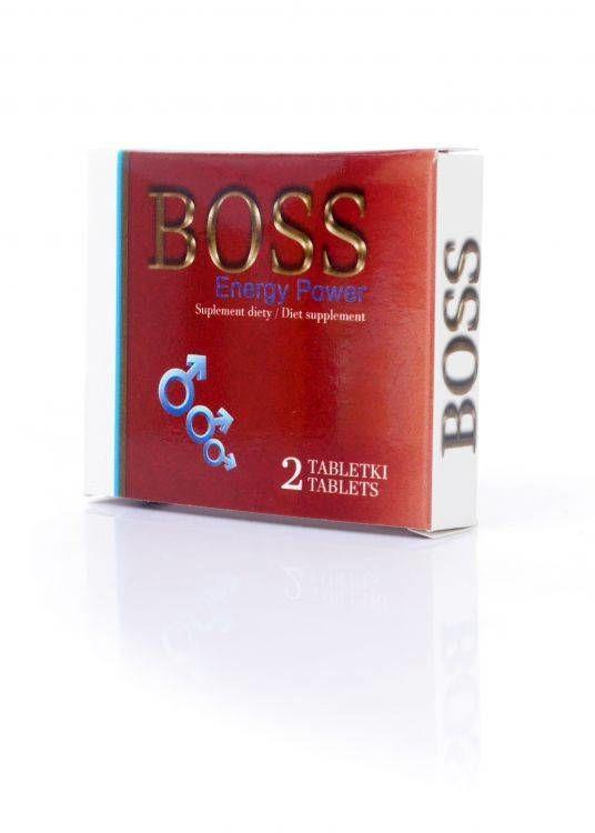 Boss Energy Power Ginseng na Erekcję 2 szt. 100% DYSKRECJI BEZPIECZNE ZAKUPY