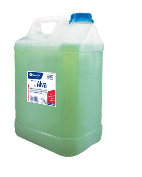 Mydło w płynie Merida Alva zielone 5 kg wysokiej jakości-pielęgnacyjne