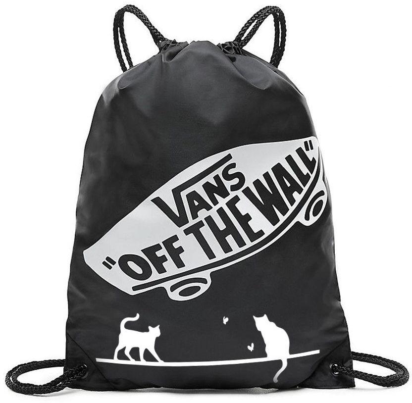 Worek szkolny Torba VANS Benched Bag - VN000SUF158 - Custom Koty cats - Cats