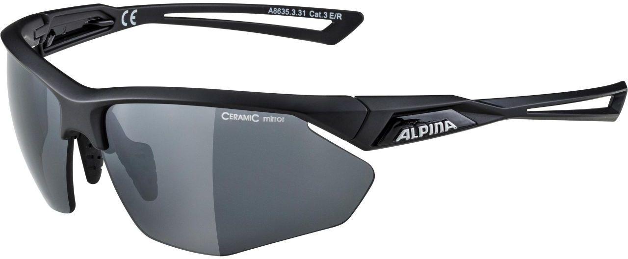 ALPINA okulary sportowe nylos HR black matt A8635331,4003692287021