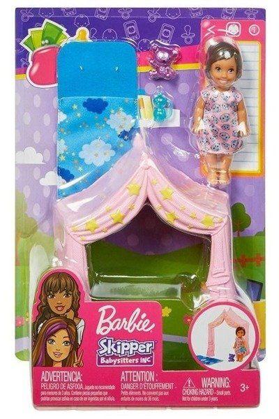 Barbie. Akcesoria spacerowe z laleczką FXG97