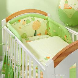 MAMO-TATO Poszewka na poduszkę 40x40cm Ślimaki zielone