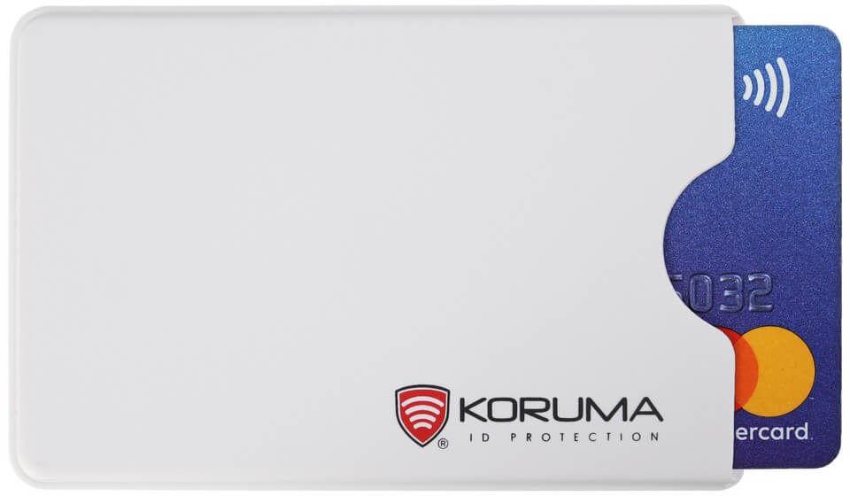 Plastikowe etui antykradzieżowe RFID (biały) - KUK-69VWHT Koruma