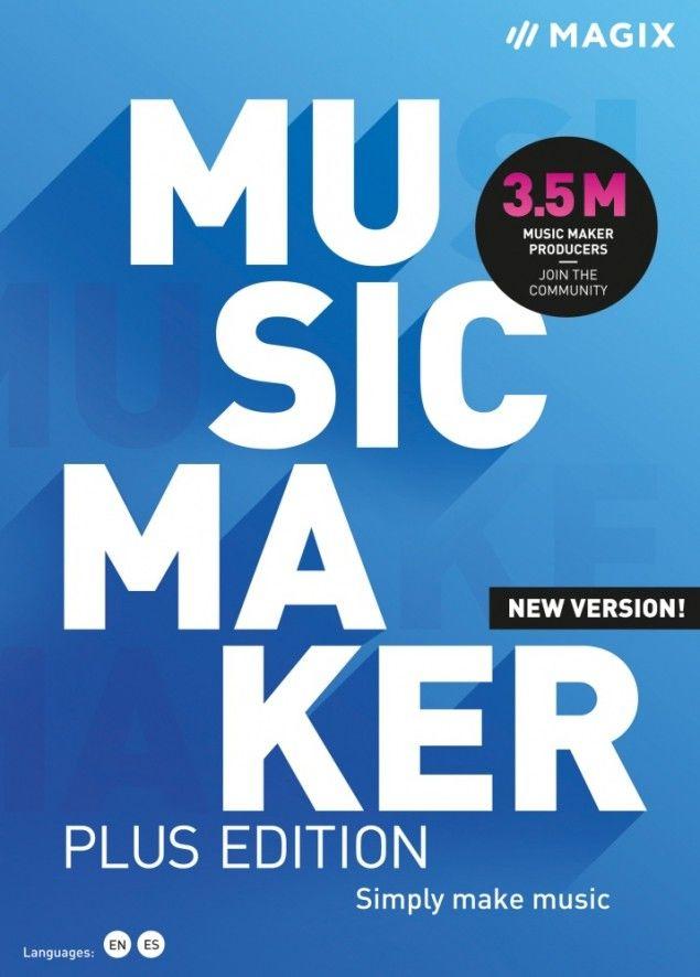 MAGIX Music Maker Plus 2021 - ESD - cyfrowa - Edu i Gov - Certyfikaty Rzetelna Firma i Adobe Gold Reseller