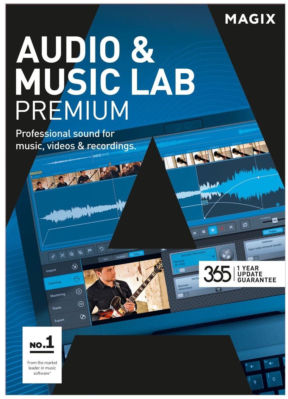 MAGIX Audio & Music Lab Premium - ESD - cyfrowa - Edu i Gov - Certyfikaty Rzetelna Firma i Adobe Gold Reseller