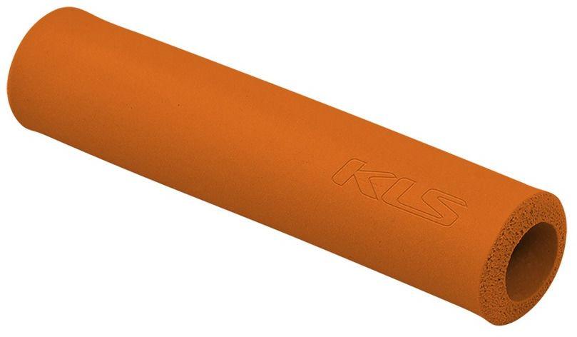 Chwyty Kellys Silica silikonowe pomarańczowe