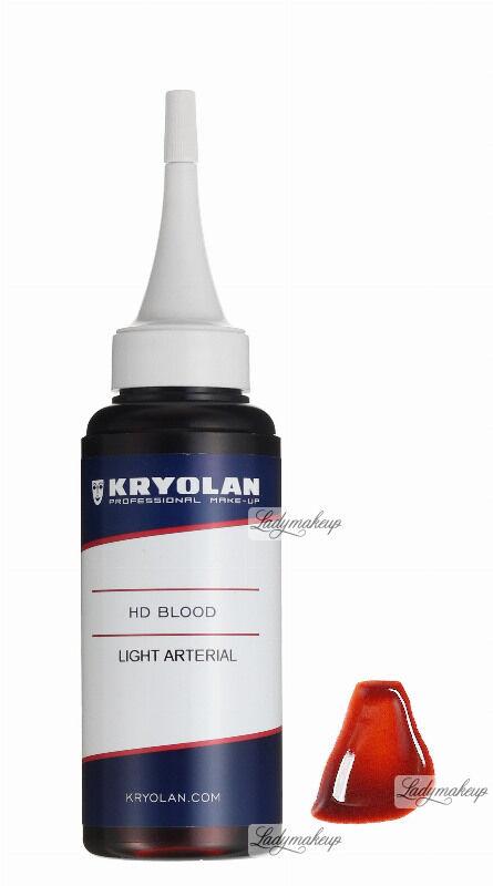 KRYOLAN - HD BLOOD - Sztuczna krew HD - 75 ml - ART. 4161 - LIGHT ARTERIAL