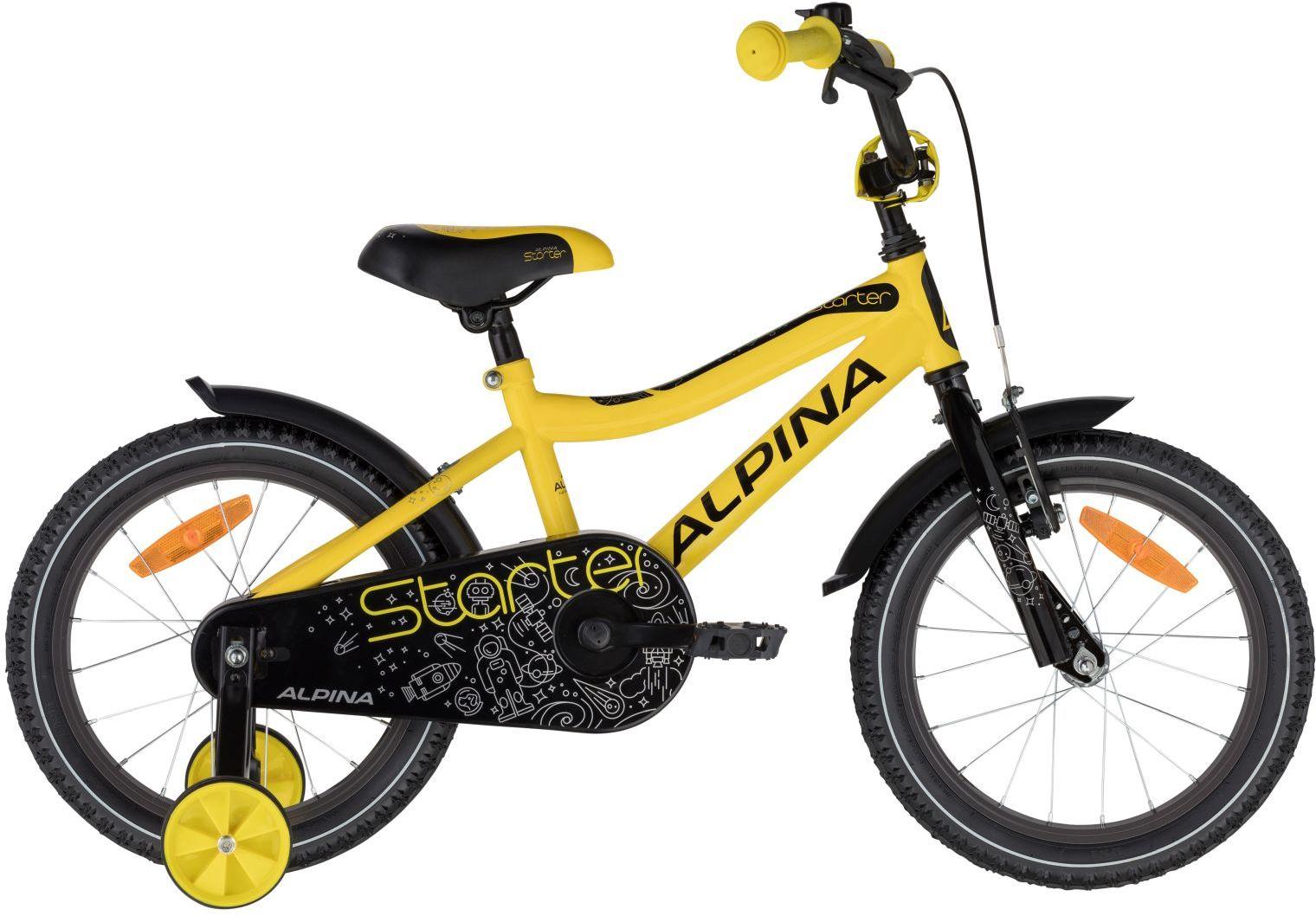 """Rower Alpina STARTER YELLOW 16"""""""