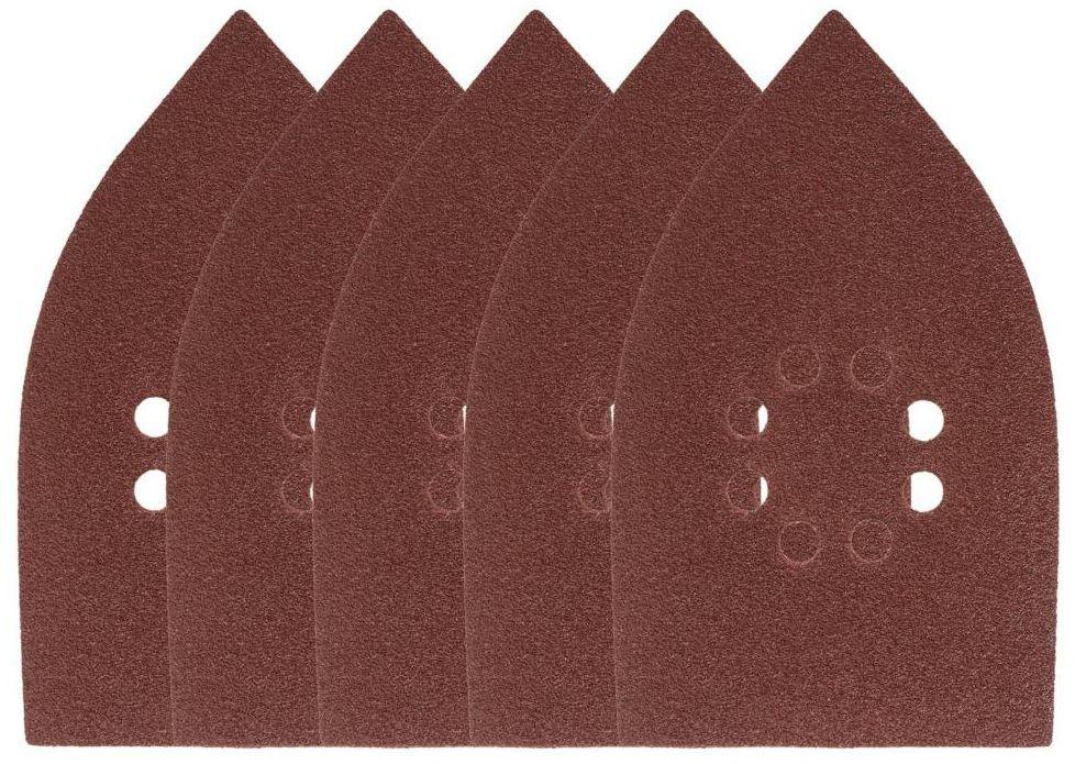 Papier ścierny ŻELAZKO 8 OTW P80 175 x 105 mm 5 szt. DEXTER