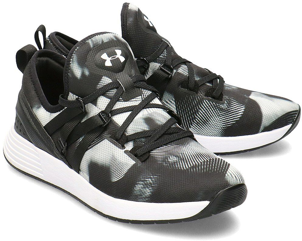 Under Armour Breathe Trainer Print - Sportowe Damskie - 3022492-001 - Wielokolorowy