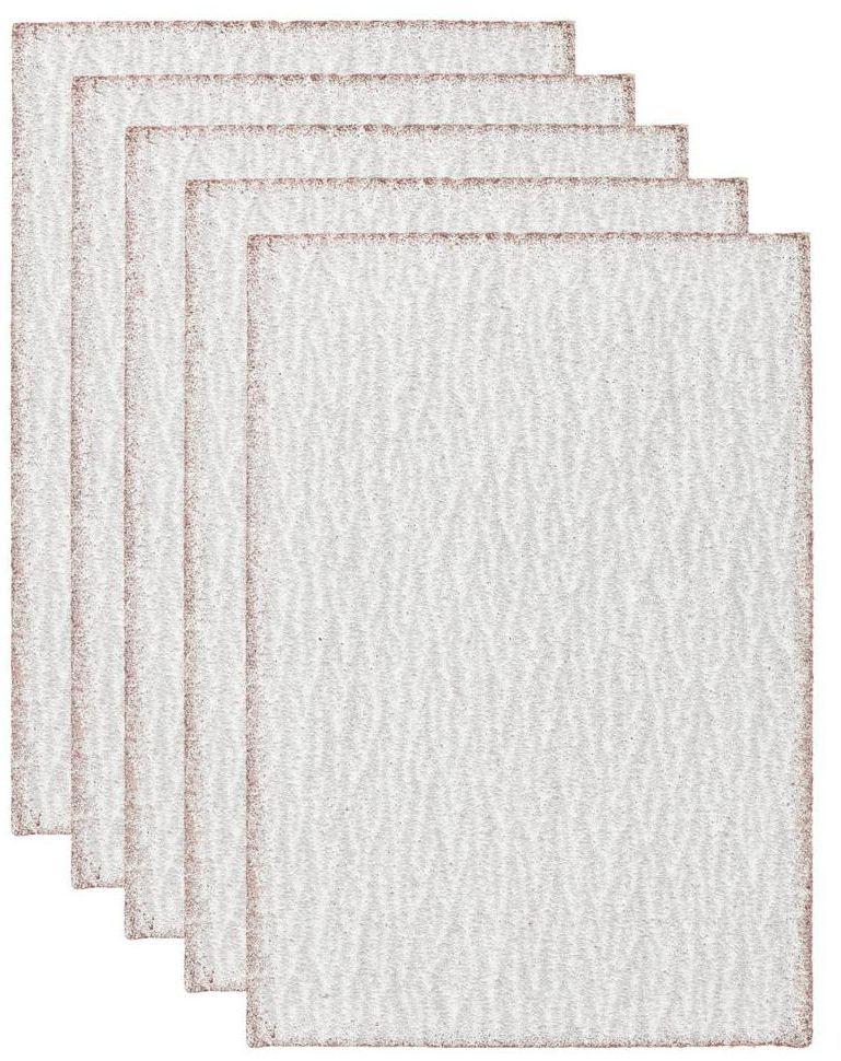 Papier ścierny DO GIPSU P120 100 x 70 mm 5 szt. DEXTER
