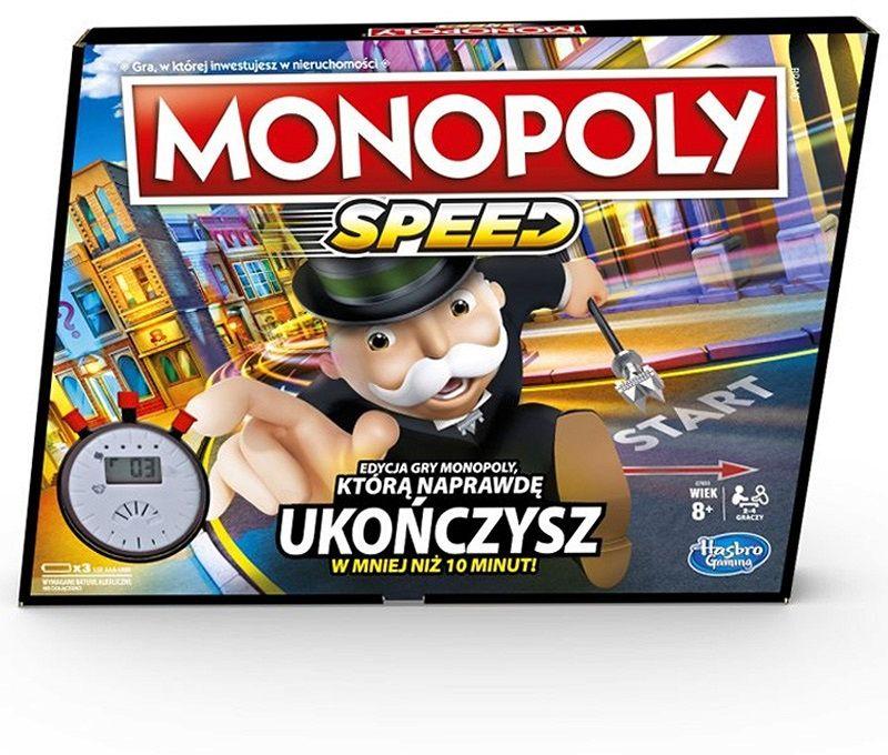 Gra Hasbro E7033 Monopoly Speed