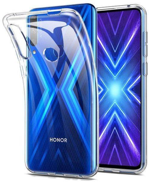 Etui obudowa case do Honor 9X silikonowe przezroczyste