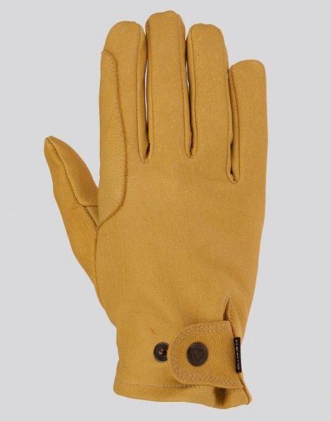 Rękawiczki ze skóry licowej z jelenia BERAJTER - KENIG