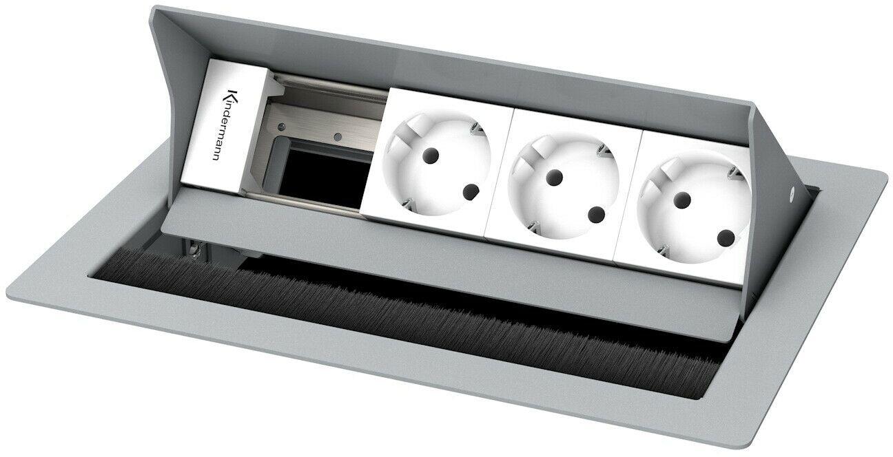Kindermann Cableport standard 4krotny, 3 x zasilanie
