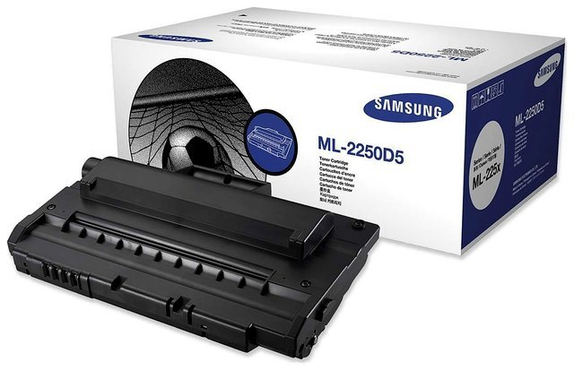 Wyprzedaż Oryginał Toner Samsung ML-2250D5 do Samsung ML-2250 ML-2251 ML-2252 czarny black, opakowanie może być uszkodzone