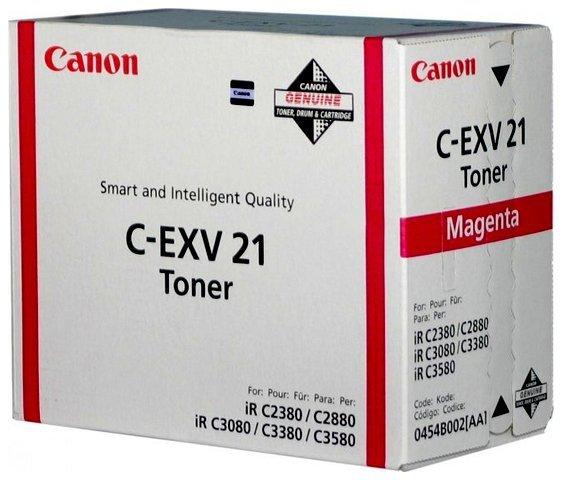 Oryginał Toner Canon CEXV21M do iR C-2280/2880/3380/3580 14 000 str. magenta