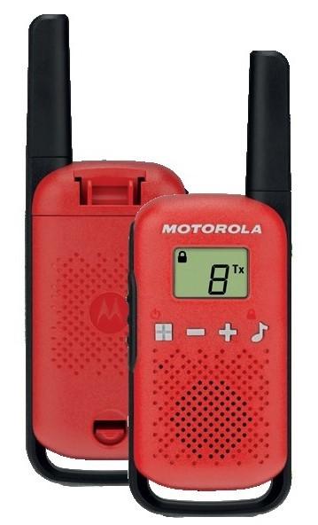 Radiotelefon MOTOROLA Talkabout T42 Czerwony DARMOWY TRANSPORT! WYBRANY PIĄTY PRODUKT 99% TANIEJ