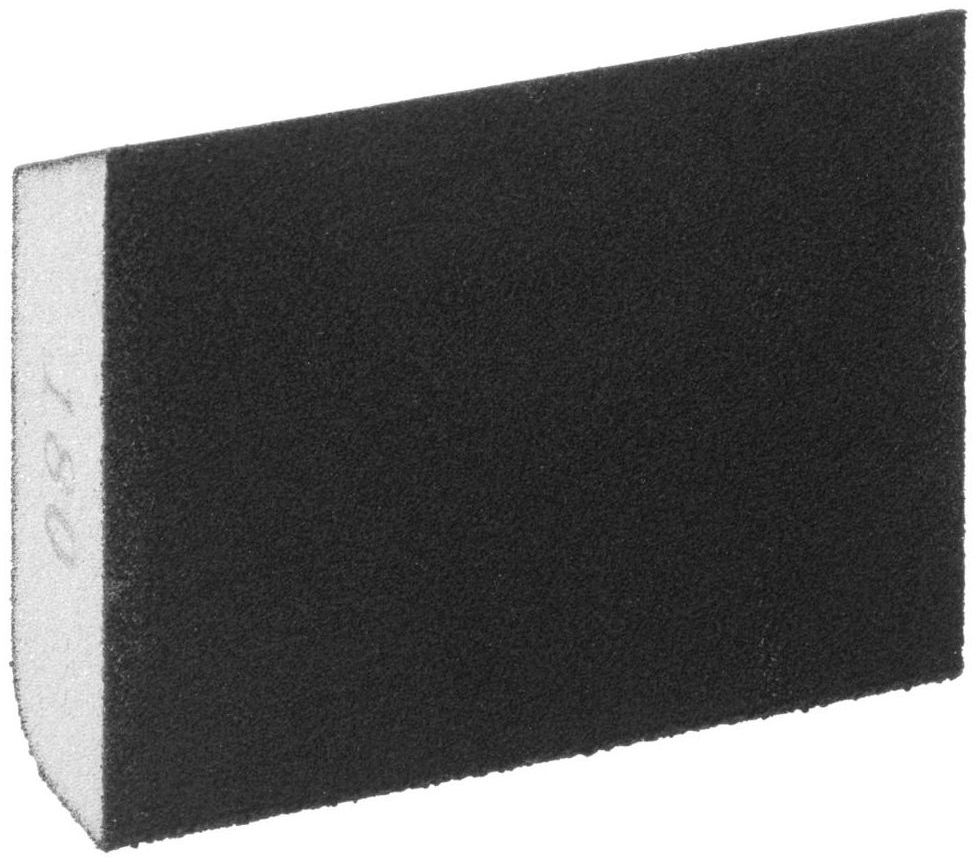 Podkładka do szlifowania P180 CZTEROSTRONNA ŚCIĘTA 100 x 80 mm DEXTER