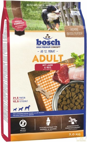 Bosch Adult Lamb Rice 3kg