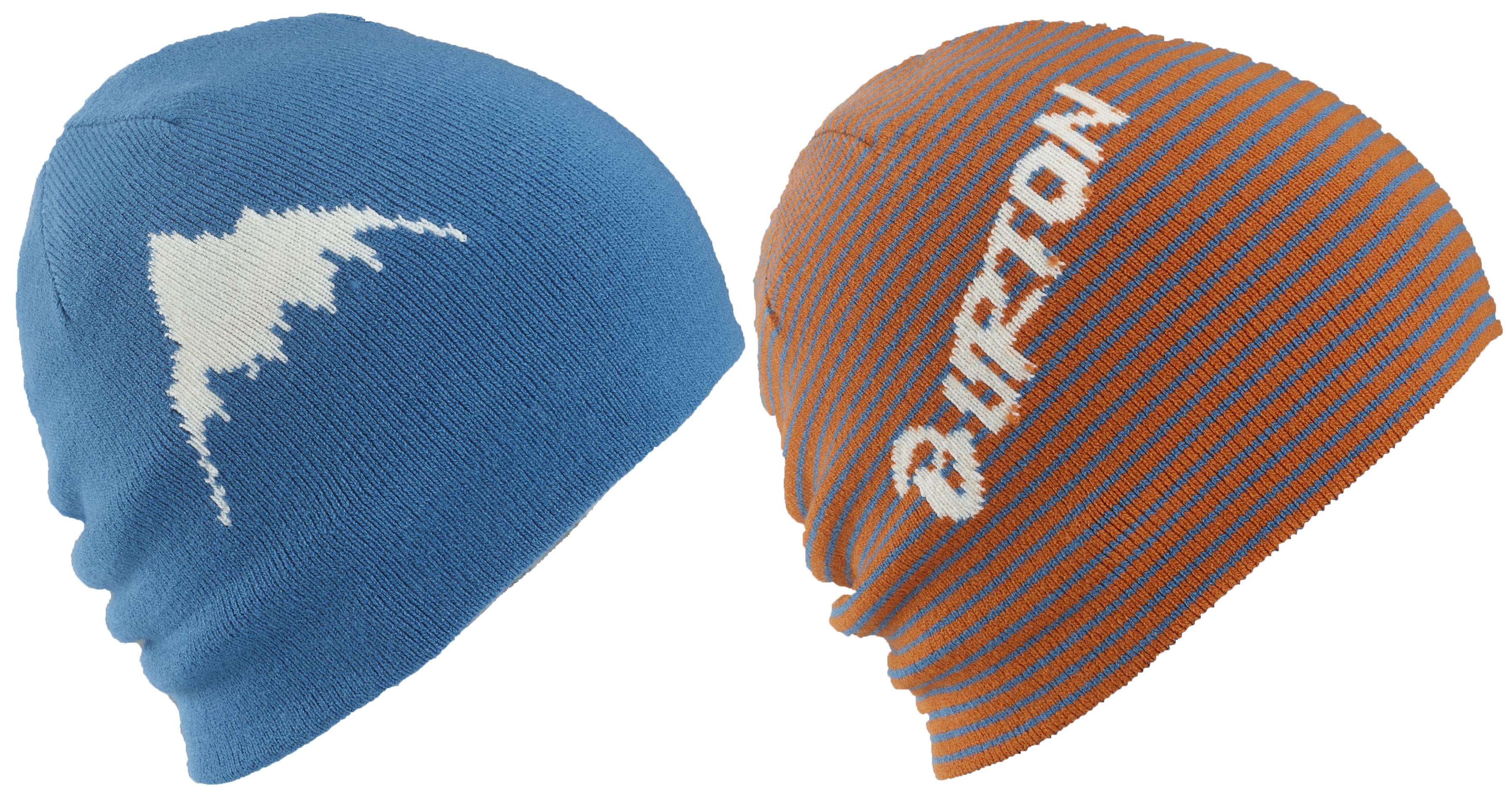 czapka zimowa dziecięca BURTON MARQUEE BEANIE MAUI SUNSET/GLACIER BLUE