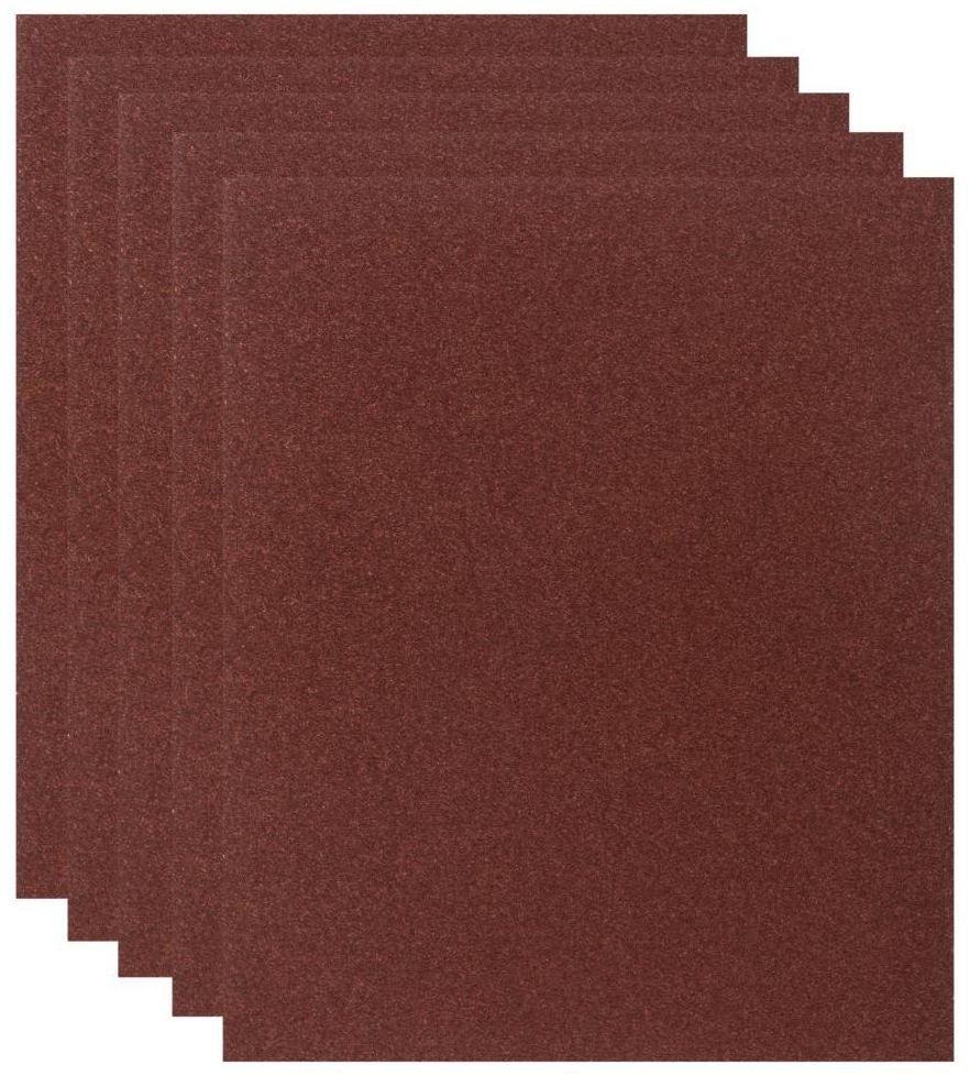 Papier ścierny DO DREWNA P80 230 x 280 mm DEXTER