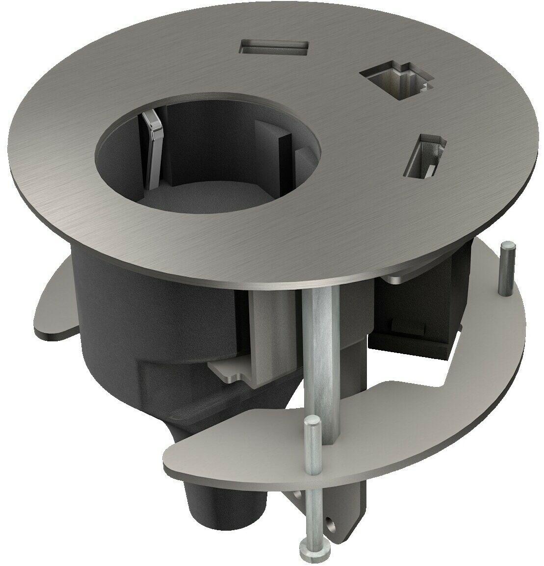 Kindermann CablePort stołowy panel złącz table2