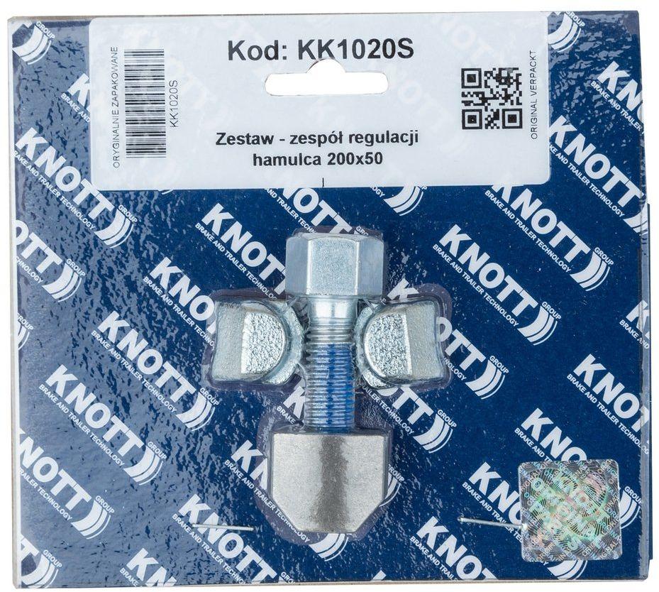 Zespół regulacji hamulca do bębna KNOTT 200x50