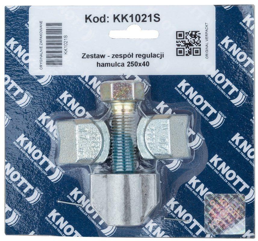 Zespół regulacji hamulca do bębna KNOTT 250x40
