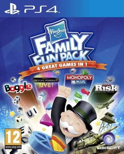 Hasbro Family Fun Pack PS4 Używana