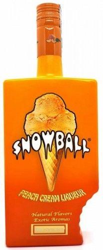 Likier Snowball Peach 16,5% 0,7l