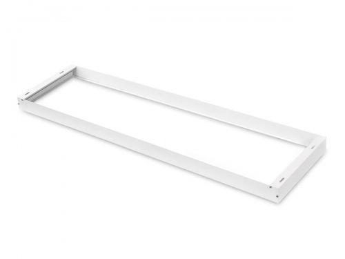 Ramka do montażu paneli LED 120x30 biała