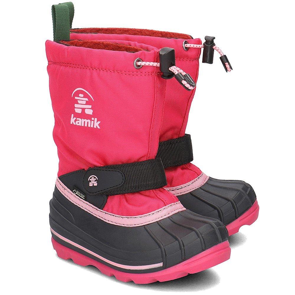 Kamik Waterbug8G - Śniegowce Dziecięce - NK8805 ROS - Różowy