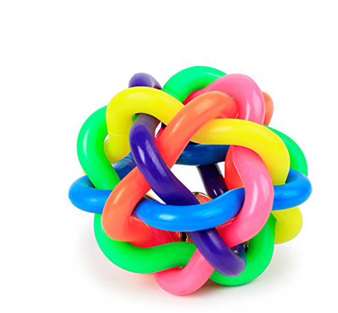 Mango Gumowa piłka dla zwierząt Rubber Multi Colour Balls