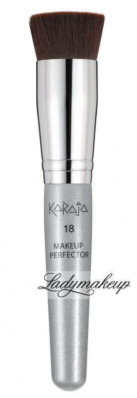 Karaja - MAKEUP PERFECTOR 18 - Pędzel do podkładu - REF: KA185