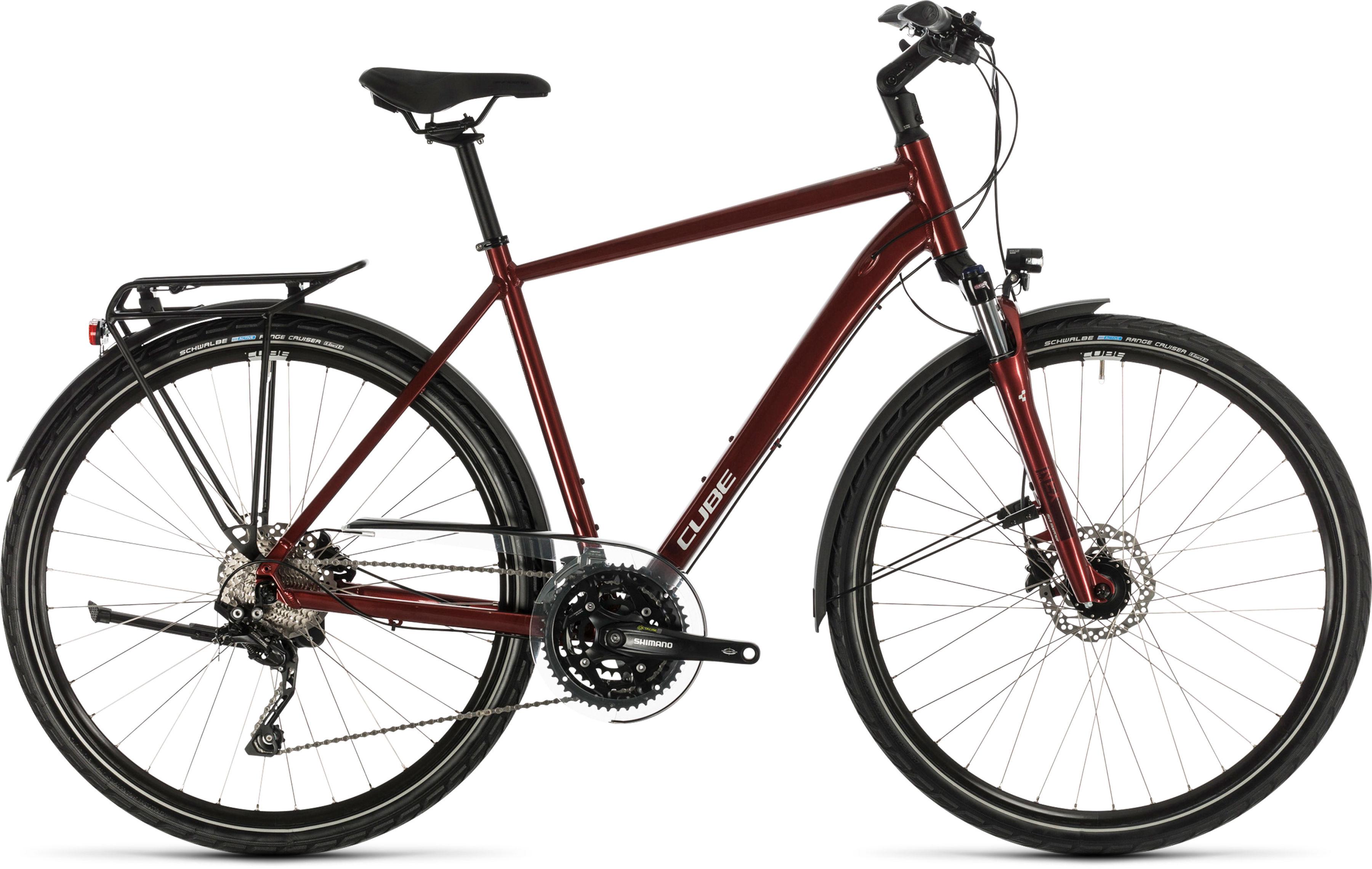 Rower Cube TOURING EXC czerwony 28 2020