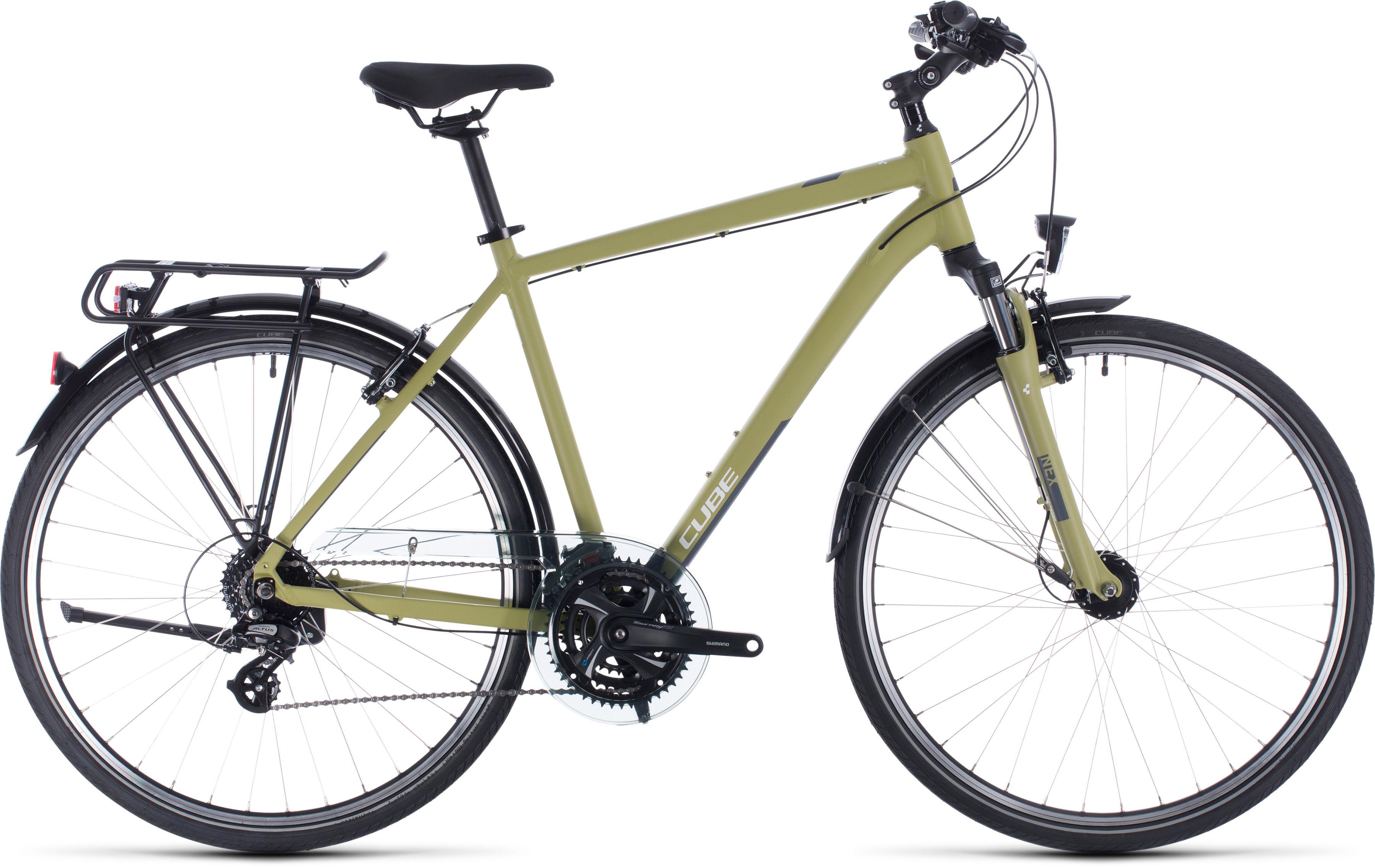 Rower Cube TOURING zielony 28 2020