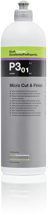 Koch Micro Cut & Finish P3.01  wykończeniowa pasta polerska z dodatkiem wosku 1l