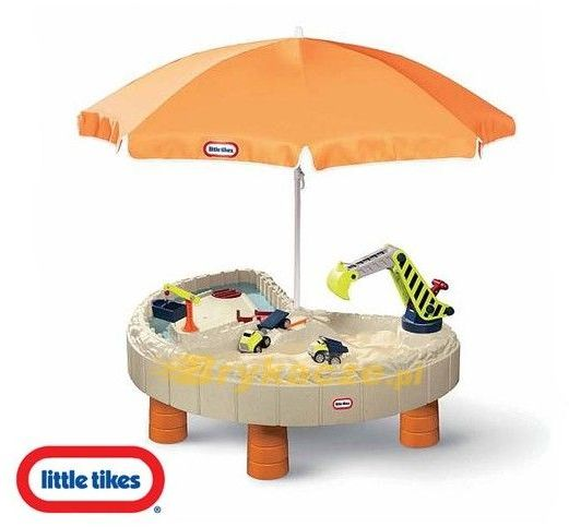 Little tikes Piaskownica Plac Budowy