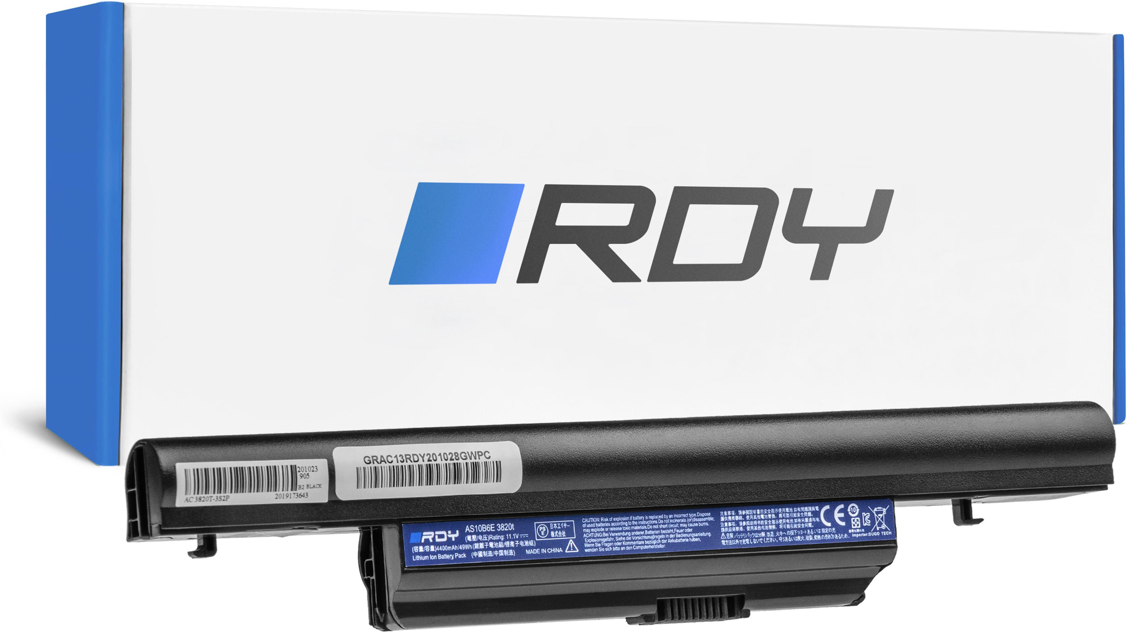 Bateria RDY AS10B31 AS10B75 AS10B7E do Acer Aspire 5553 5745 5745G 5820 5820T 5820TG 5820TZG 7739