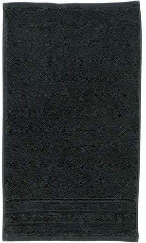 Ręcznik bawełniany Kleine Wolke Royal Black